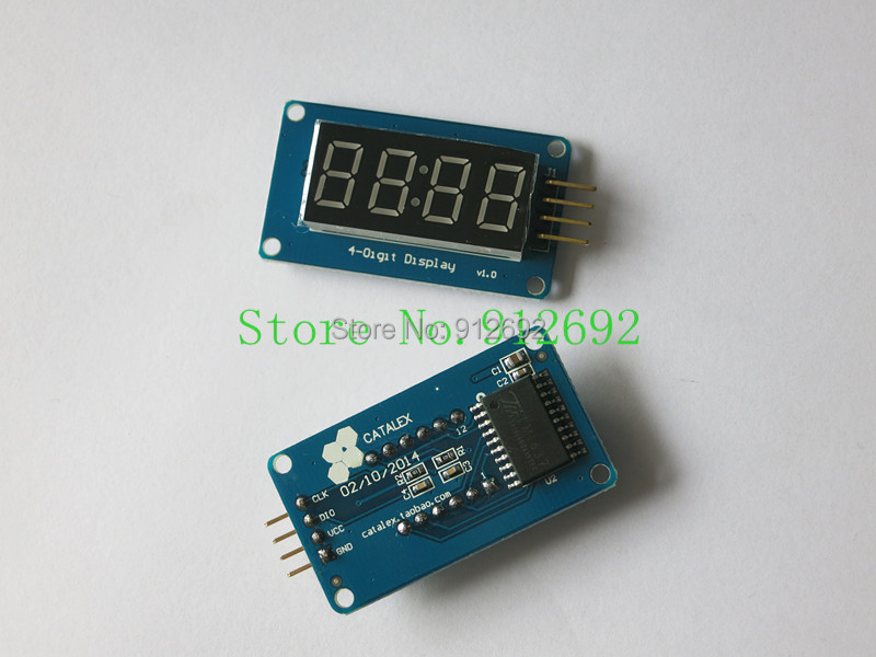 Tm bits digital led display module for arduino
