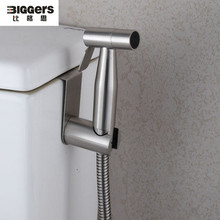 Shower-Set Toilet Hand-Bidets 304-Stainless-Steel Hanging with Hose