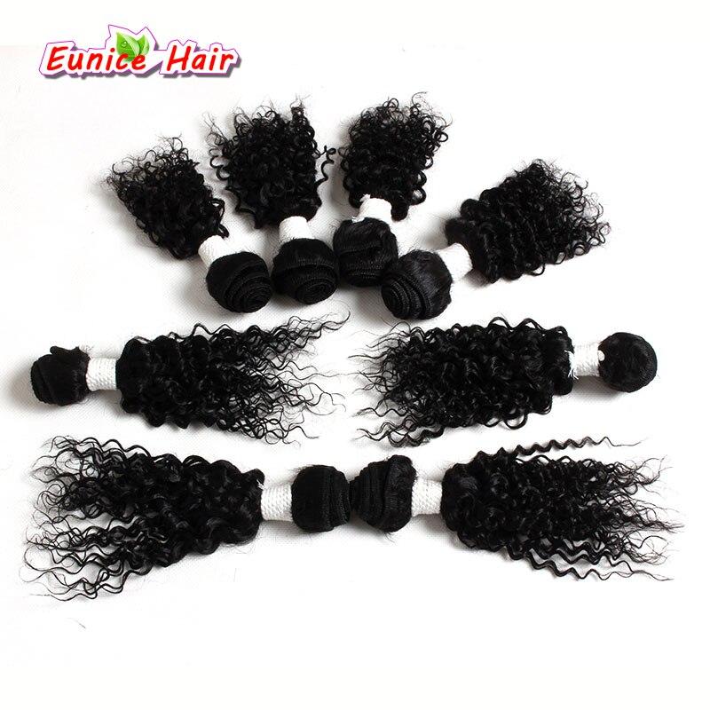 Малайзии свободная волна волос 8 пучки 8 inch 8-14 дюймов афро кудрявый вьющиеся волосы монгольский глубоко вьющиеся парики ombre Белокурые Волосы...