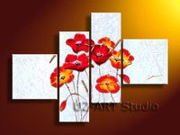 Abstract flowers,art,reproduction,home decorate,oil painting for bedroom GP78