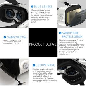Image 3 - Original BOBOVR Z4 Leather 3D Cardboard Helmet Virtual Reality VR Glasses Headset Stereo BOBO VR for 4 6 Mobile Phone
