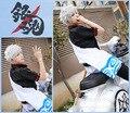 Anime Cosplay Costume GINTAMA Silver Soul  Sakata Gintoki Cosplay Kimono