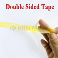 140mm 20M 0 1mm Thick Heat Withstand Two Face Adhesive Tape Polyimide Film For Lithium Battery
