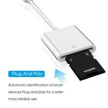 Kebidumei portátil usb 3.1 tipo c USB-C para sd sdxc leitor de cartão cabo adaptador para macbook huawei xiaomi android otg leitor de cartão