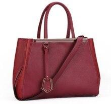 Мода SAFFIANO пу кожи женщин сумки, офис дамы 2 Jours сумка, горячие продажа марка дизайнер сумки на ремне, бесплатная доставка