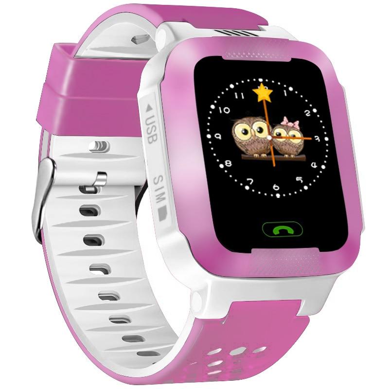 New Smart Children\'s Watches Kids LBS SOS Camera Wristwatch Waterproof Watch With Remote Shutdown SIM Call Gifts