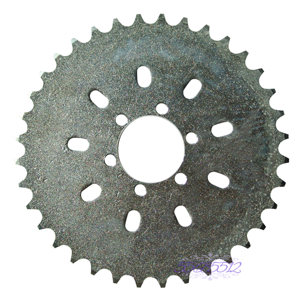 <font><b>36T</b></font> <font><b>Sprocket</b></font> Fits 49cc 50cc 66cc 80cc Motorized Bike Engine Part image