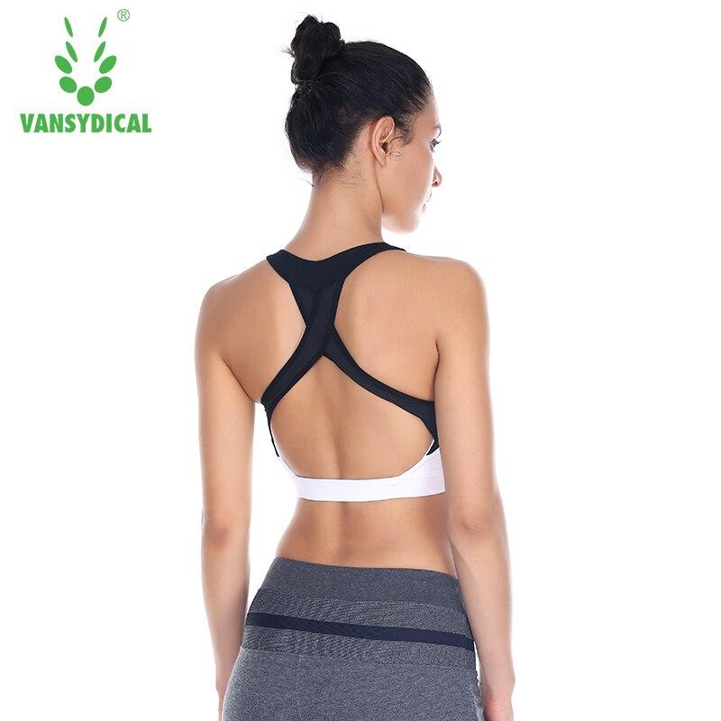 Women Yoga Bra Push Up Running Yoga Sports Bra Shockproof