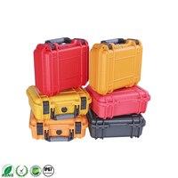 Водонепроницаемый ABS пластиковый ящик для инструментов для кемпинга на открытом воздухе  чехол для выживания  ударопрочный ящик для трансп...