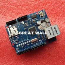 10pcs/lot  Shield Ethernet Shield W5100  Development board FOR arduino