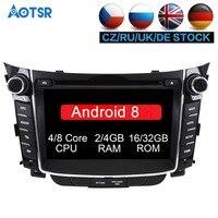 Android 8.1 Car DVD player GPS Navigation For Hyundai I30 Elantra GT 2012 2013 2014 2015 2016 Auto multimedia Headunit gps stere