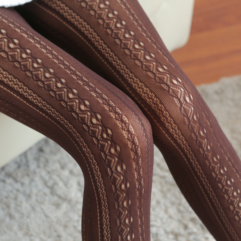 New Arrival Sexy Carving Flower Pantyhose Womens Net Stocking Standard Jacquard Tights Gift Wholesale