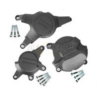 Motorcycle Black Engine Cover Protection Case Set Kit For HONDA CBR1000RR CBR 1000 RR 2008 2016 08 09 10 11 12 13 14 15 16