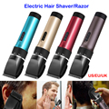 2-en-1 carga/alimentación del bebé/hombres máquina de afeitar eléctrica de afeitar la barba trimmer grooming corte recortador barbeador UE EE.UU. REINO UNIDO plug