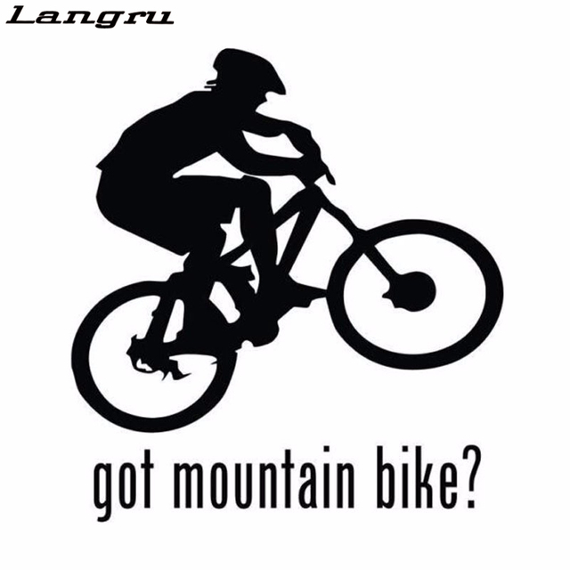 Langru New Style Outdoor Extreme Sports Got Mountain Bike Car - Window decals for sports
