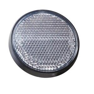 Image 2 - AOHEWE Weiß runde reflektor selbstklebende ECE Zustimmung seite marker licht für anhänger lkw lkw caravan bike position licht