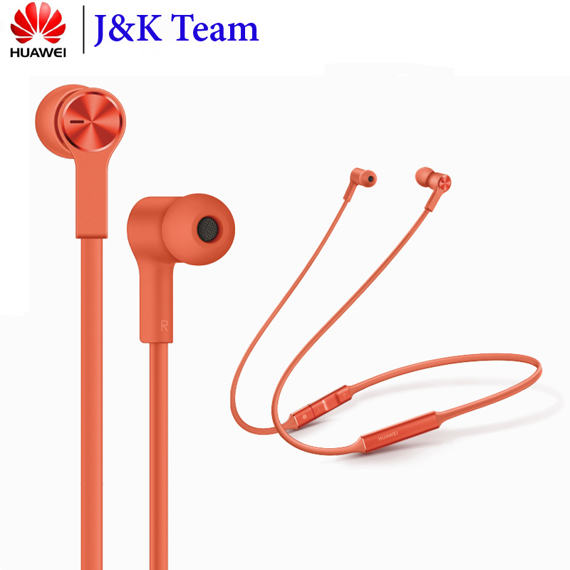 Huawei FreeLace Sport Earphone Huawei Bluetooth wireless Headset Memory Cable Metal Cavity Liquid Silicon MAGNETIC SWITCH