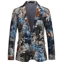 Men Blazer Designs Fashion Blazers Slim Fit Blazer Men New Arrival Mens Floral Blazers Prom Dress Elegant