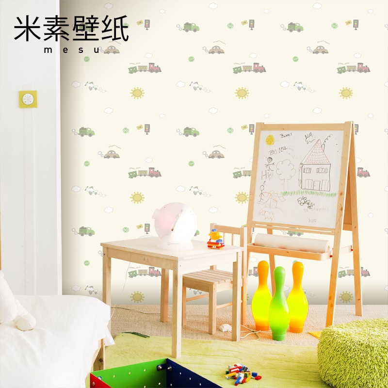 2017 Sale Photo Wallpaper Papier Peint Papel Pintado Rice Element Children's Bedroom Boy Warm Non-woven Cartoon Girl Lovely Car 2017 real photo wallpaper papel pintado paysota children room non woven wall paper cartoon balloon girl boy bedroom background