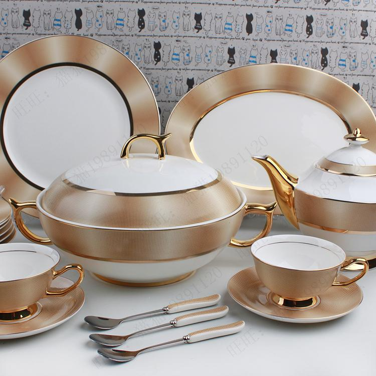 99 Fashion Royal Bone China Tableware Tea Set Relief Of