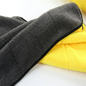 Image 5 - 1pc 30*30/30*40/30*60 洗車タオルマイクロファイバーカークリーニング乾燥布マイクロファイバー洗濯乾燥タオル強力な厚いぬいぐるみ