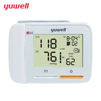YUWELL Wrist Blood Pressure Monitor Heart Rate Monitor Portable ECG Monitor Digital LCD Blood Pressure 60 groups Memory 8900A