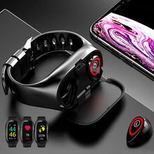 TWS Bluetooth 5.0 Tai Nghe Không Dây Tai Nghe Dành Cho Điện Thoại Đồng Hồ Thông Minh Đo Nhịp Tim Thật Không Dây Âm Thanh Stereo Tai Nghe Nhét Tai Thể Thao