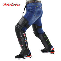Motorcycle Warm Kneepad Windproof Rider Keeping Knee Warm Pads Legs Protector Thickening Cold-Proof Winter Scooter 2Pcs/lot