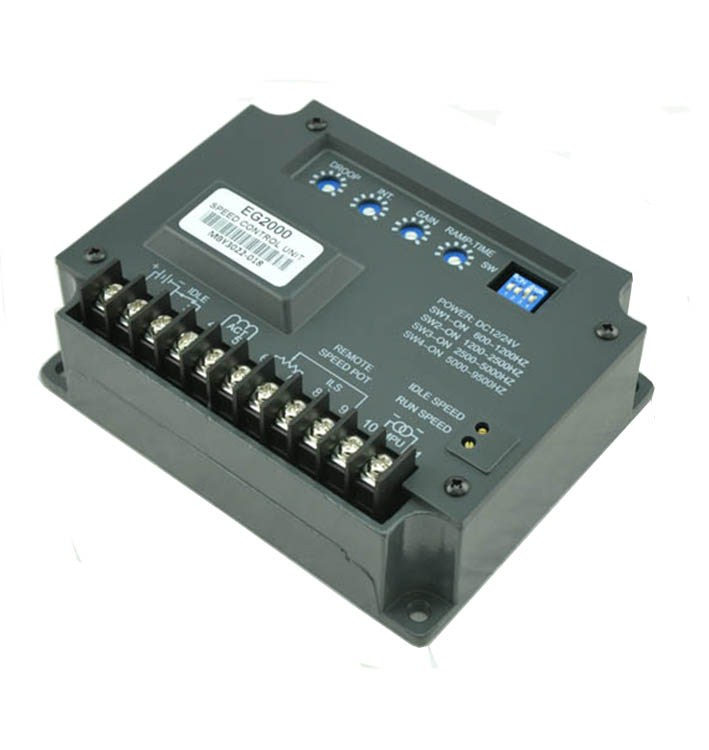 DC Electronic Governor EG2000 diesel generator set electric speed controller board speed govornor brushless motor genset part цена