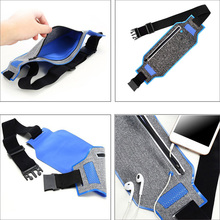 Sports mobile accessories, men and women general for iPhone outdoor running waist bag waterproof belly with fitness jogging bag