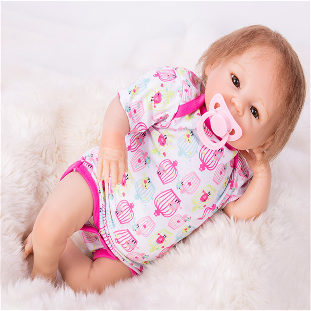 SanyDoll 18 inch 46 cm Silicone baby reborn dolls, Lovely baby gift festival gifts for boys and girls birthday giftsSanyDoll 18 inch 46 cm Silicone baby reborn dolls, Lovely baby gift festival gifts for boys and girls birthday gifts