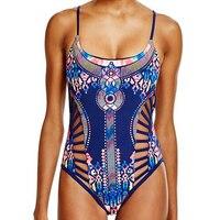 One Piece Swimsuit Sexy Swimwear Women 2017 Summer Beach Wear Bathing Suit Bandage Hollow Out Cut
