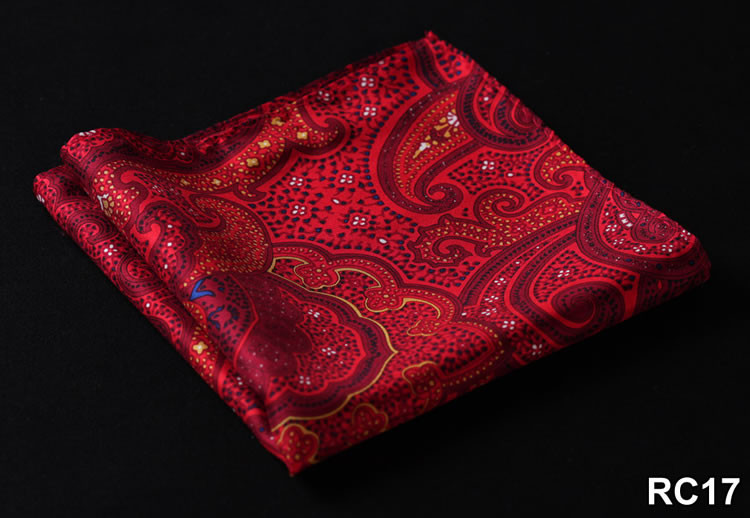 RC17 HN04R Red Yellow Paisley 32cm