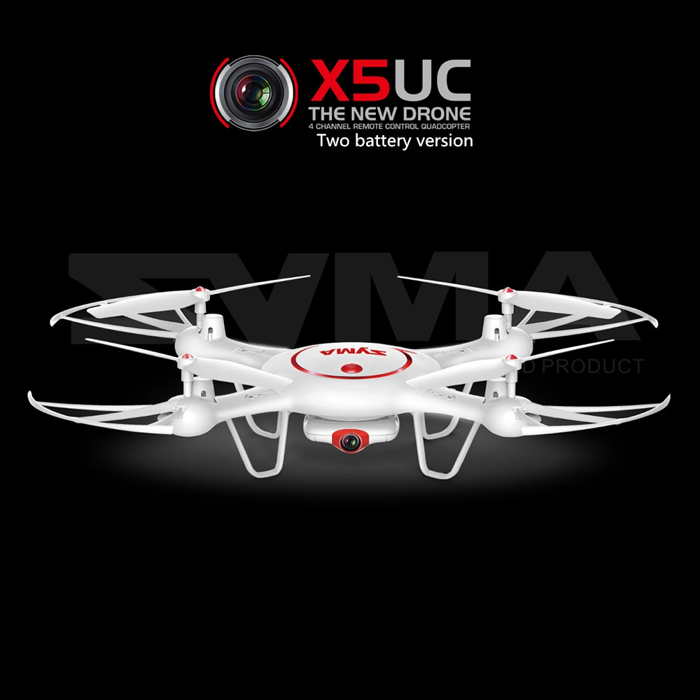 ФОТО Original Syma X5UC Drone with 720P WIFI FPV HD Camera BHelicopter Height Hold One Key Land 2.4G 4CH 6Axis RC Quadcopter RTF