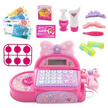 Onshine, supermercado para niños, caja registradora, juguetes electrónicos y compras, educación para niños, simulan jugar a los juguetes para niños