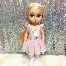 Doll Accessories pink dress Doll Clothes Wear fit 40cm Baby Born zapf Ballet skirt princess