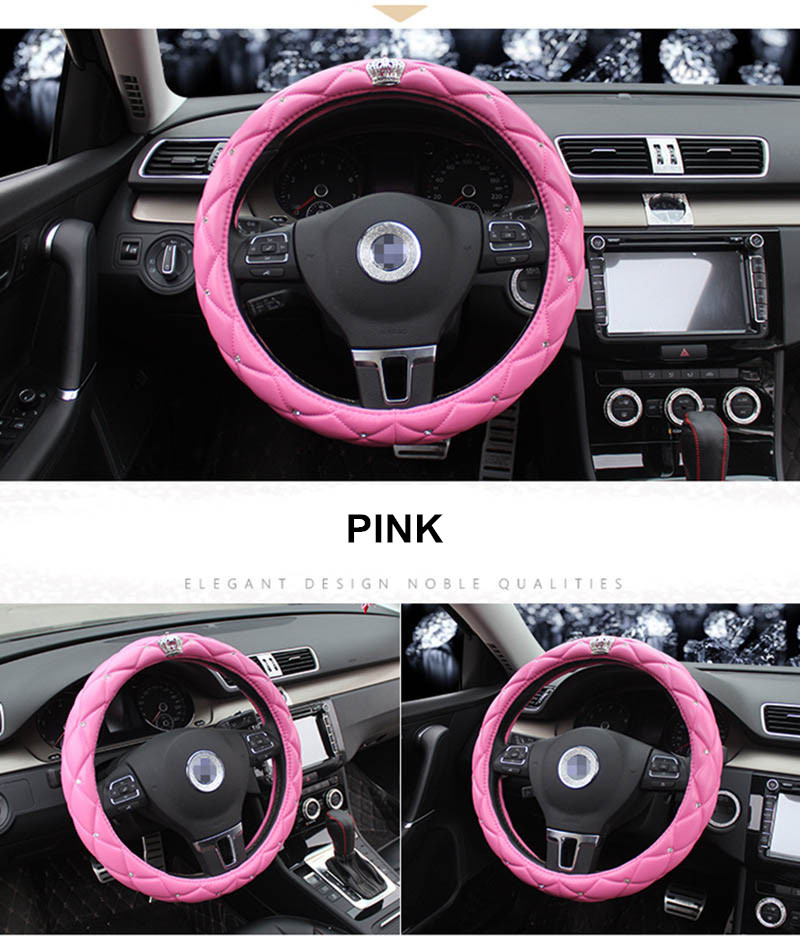 leather steering wheel cover 9