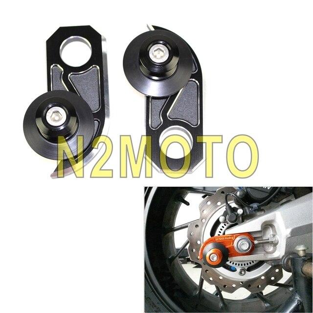 Motorrad Streetbike Billet Aluminium Schwinge Spulen Slider Fur HONDA CB650F Off Road Schwarz