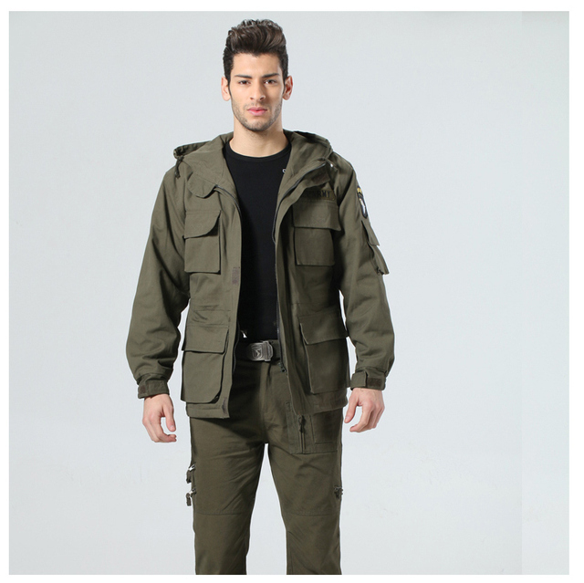 8101 models outdoor clothing 101st airborne division hooded fleece