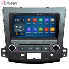 Quad Core Android 5.1 Car DVD Player For MITSUBISHI OUTLANDER 2005-  With 16 GB Flash Mirror Link Wifi Bluetooth Free Map GPS