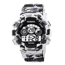 Watch Men Military Sports Watches Fashion Silicone