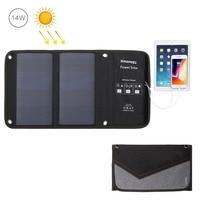 HAWEEL Solar Charger 14W/21W/28W Solar Panel & USB Port Waterproof Foldable for iPhone X/8/8 Plus/iPad Pro Air 2 Mini/Galaxy