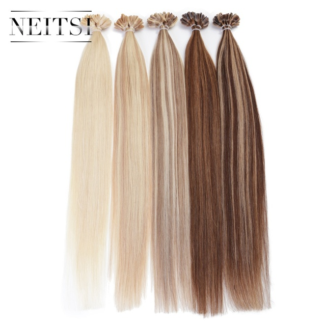 Indian Remy Nail Tip Extensions 46