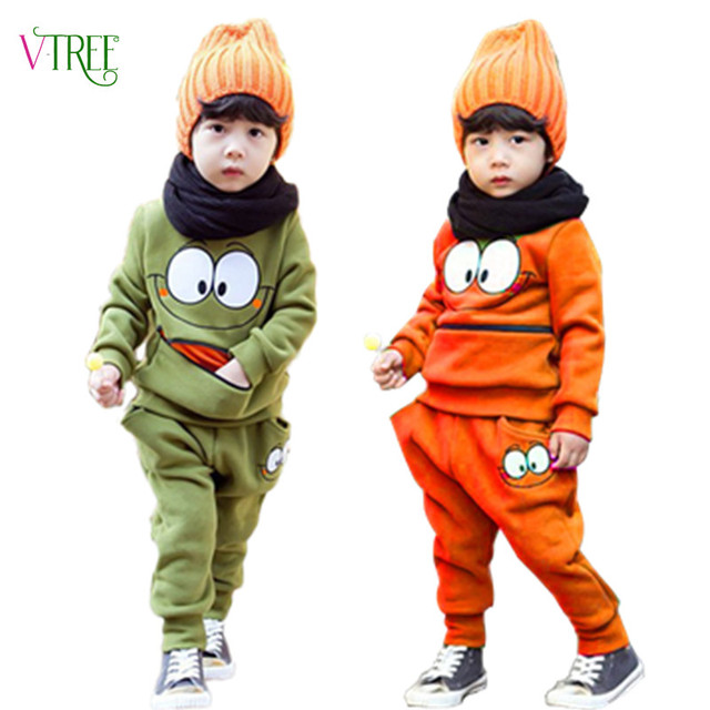 acf3d6afac8a New autumn baby boys clothing sets 2 colors girl sweatshirt pant ...