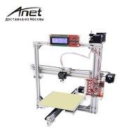Black WHITE Anet A2 Reprap Prusa I3 3d Printer Aluminium Metal Frame LCD Display Fast Shipment