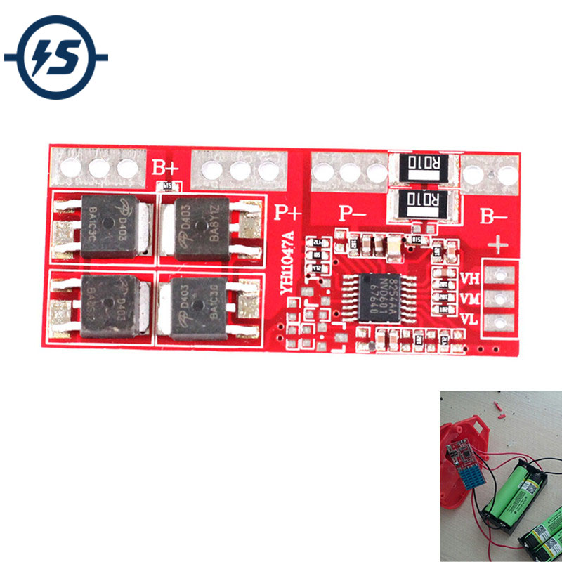 <font><b>4S</b></font> 30A High Current Li-ion Lithium Battery <font><b>18650</b></font> Charger Protection Board Module 14.4V 14.8V 16.8V Overcharge Module for Arduino image
