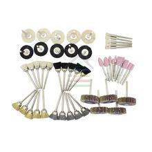 50pc Assorted Arasives Rotary Tool Grinder Accessories Set for Dremel 4000 Grinder Grinding Sanding Polishing Flap Wheel