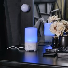 100ML USB Air Humidifier Ultrasonic Aromatherapy Essential Oil Aroma Diffuser with LED Night Light Mist Purifier Atomizer