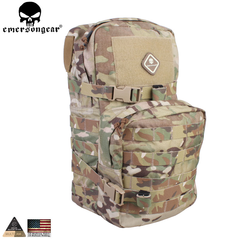 EMERSONGEAR Sports Bag Military Paintball Tactical Hydration Backpack Modular Assault Molle 2.5L Water Hydration Bag EM5816 summer high quality women flats sandals plus size 34 43 new fashion casual ladies sandalias comfort mujer gladiator woman shoes