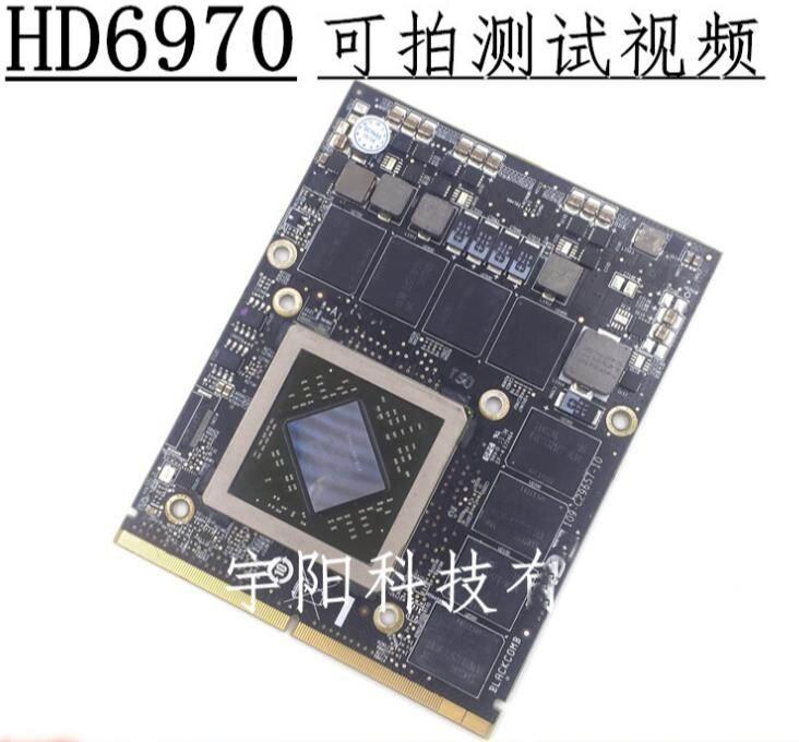 27 A1312 HD6970 HD6970m HD 6970 6970 m 1g 1 gb 109-C29657-10 216 0811000 2011 vidéo graphique VRAM carte VGA GPU